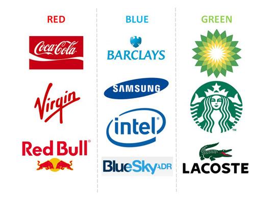 ブランド価値を印象付ける色